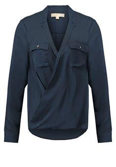 MICHAEL Michael Kors Blouse new navy Meer info via http://kledingwinkel.nl/product/michael-michael-kors-blouse-new-navy/