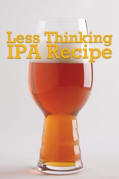 This recipe from Matt Gallagher, brewmaster at Half Acre Beer Co. in Chicago, is a nice Amarillo-focused American strong pale ale (but you could also call it an IPA). It's great for highlighting two different hops, but it could easily be used to evaluate a single varietal as well. It is best consumed during the summer months surrounded by nature. https://beerandbrewing.com/VsJmGykAAOUIPKO0/article/less-thinking-ipa-recipe