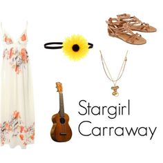 """Stargirl Caraway from Jerry Spinelli's Stargirl """"Nothing's more fun than getting carried away. Book Costumes, Cosplay Costumes, Halloween Costumes, High School Outfits, Outfits For Teens, Stargirl Movie, Sport Outfits, Cool Outfits, Cute Clothes For Women"""