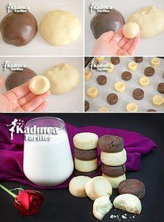 Sütsüz Yumurtasız Margarinsiz Kurabiye Tarifi