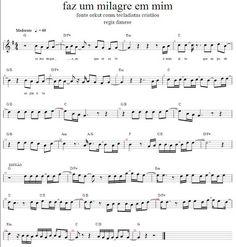 Partituras para Violino: Faz um milagre em mim - Regis Danese