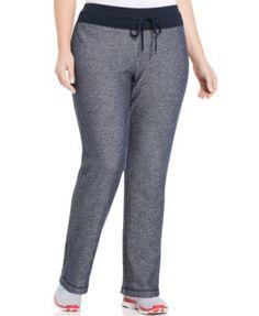 Jones New York Signature Plus Size Drawstring Active Pants