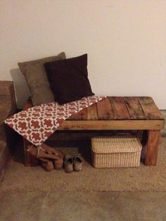 Simple Pallet Bench | 101 Pallets