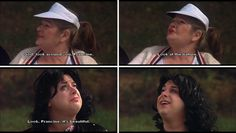 """""""God, look around you, Francine. Look at the nature. Look, Francine, it's beautiful."""" —Cuddles. Edith Massey (as Cuddles Kovinsky) and Divine (as Francine Fishpaw) from John Waters' Polyester, 1981 Stiv Bators, Tab Hunter, John Waters, Cuddles, God, Nature, Beautiful, Fashion, Movies"""