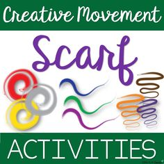 Creative Movement Scarf Activities - Music, PE, Movement G End Of Year Activities, Movement Activities, Music Activities, Music Games, Toddler Activities, Preschool Gymnastics, Preschool Music, Singing Lessons, Music Lessons