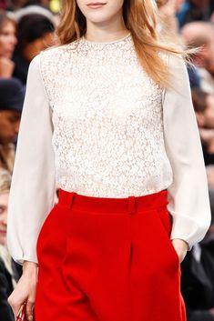 Chloé Fall 2012 Ready-to-Wear Fashion Show Details