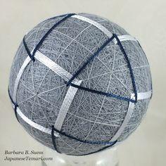 Japanese Temari: It's great to be back stitching temari!