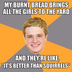 lol!  - Peeta - Hunger Games Week!