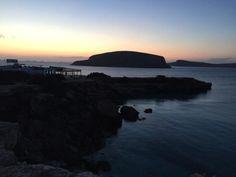 Cala Conta (Comte) en Ibiza, la ruta del atardecer. Puesta de sol #Ibiza #atardecer #calasibiza #puestadesol