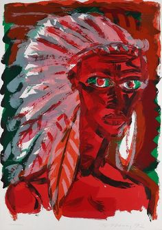 Rainer Fetting - Indians