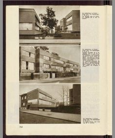 Complex Eduard Van Steenbergen - Volhardingstraat  - magazine Bâtir 1936 / 44