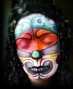 #makeup #maquillaje #artístico. #payaso