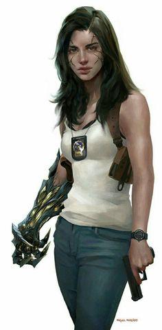 New Concept Art Girl Shadowrun Ideas Character Concept, Character Art, Concept Art, Anne Bonny, Space Opera, Epic Drawings, Cyberpunk Art, Image Comics, Shadowrun