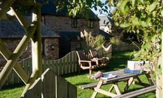 1 May 2020 - Entire home/flat for Carnebo barns are a small collection of four traditional converted self catering barns surrounded by Cornwall's finest sweeping country views, the . Cornwall Coast, North Cornwall, Cornwall Cottages, Newquay, Outdoor Furniture Sets, Outdoor Decor, Sandy Beaches, Picnic Table, Beautiful Landscapes