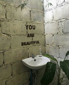 You are beautiful. You are special. Mirror Image, You Are Beautiful, Beautiful Smile, Coffee Shop, Street Art, Inspirational Quotes, Positivity, In This Moment, Thoughts