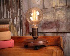 Shadow Box Edison Lamp Table Lamp Desk Lamp Bedside by DanCordero ...