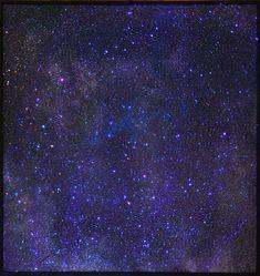 Blue Pegasus, Gold Man, 48 × 48 in, × cm. Create Words, Pegasus, Cosmos, Galaxies, Gold, Blue, Universe, The Universe