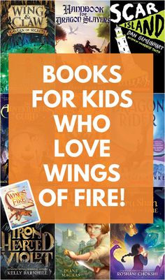 Does your child love the Wings of Fire series? Want to help them discover new titles? They will love these books like Wings of Fire that have just as much suspense, adventure and fantastical elements! Best Books List, Book Lists, Good Books, Best Children Books, Childrens Books, Book Reviews For Kids, Read Aloud Books, Get Reading, Wings Of Fire