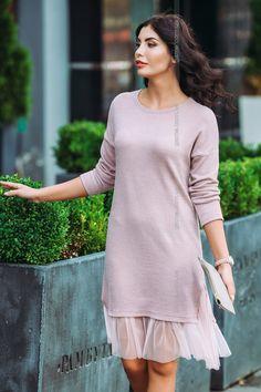 Платье женское. Платья. Цвет: розовый. #4032635
