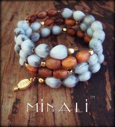 Our Lady - Natural Spiral Wrap Bracelet - Minali™