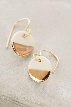 Porcelain Pebble Drops - anthropologie.com