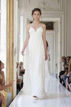 Vestidos de novia 2014: Fotos de diseños sencillos para una boda civil - Vestido de novia para boda civil de Delphine Manivet