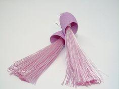 Pendientes de seda y flecos en color rosa claro.: Amazon.es: Handmade Color Rosa Claro, Tassel Necklace, Tassels, Jewelry, Fashion, Dyed Silk, Light Colors, Bangs, Earrings
