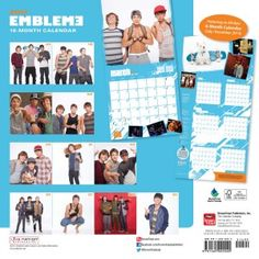 Emblem3,  3000 Miles,  Official Video, Nothing to Lose, 2013, Keaton Stromberg, Wesley Stromberg, Drew Chadwick, BrownTrout, Calendars