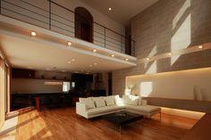 曲線が繋がるモダンな邸宅 | 建築家住宅のデザイン 外観&内観集|高級注文住宅 HOP