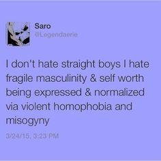 Allosexual homophobic
