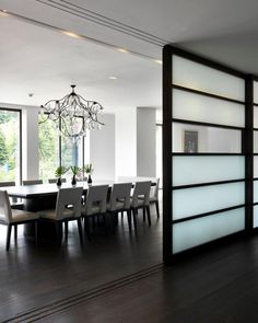Wood Room Divider - Get the Look You Want in Your Home - Room Divider Ideas - Colorful Interior Design, Contemporary Interior, Wood Room Divider, Room Dividers, Beautiful Kitchens, House Rooms, Room Set, Luxury Homes, Living Spaces