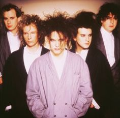 My dad loves the cure. Sometimes my family would all dress up as Robert Smith and have Cure nights. One of lifes highlights was going to a Cure concert as a family.