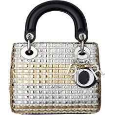 バッグ ❤ liked on Polyvore featuring bags, handbags, borse, dior, sac, white purse, white handbags and white bag