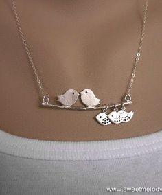 lovely bird necklace