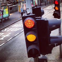 Un semaforo ad #HongKong