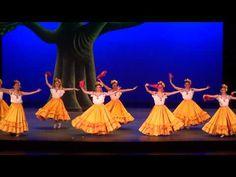 ▶ Amarillas y Gusto... Ballet Amalia Hernandez - YouTube