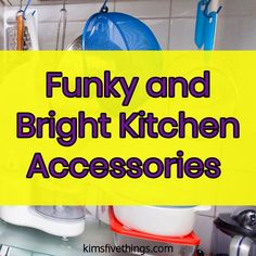 Home Interior Salas Eccentric and goofy kitchen gadgets that make great gifts for cooks. How can I make my old kitchen look better using funky purple kitchen accessories? Goofy's Kitchen, Funky Kitchen, Home Decor Kitchen, Home Decor Bedroom, Kitchen Gadgets, Kitchen Modern, Cooking Gadgets, Kitchen Interior, Room Decor