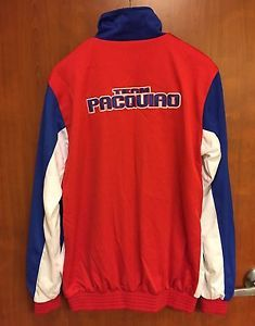 ☀NEW☀Team Manny Pacquiao Jacket☀Hoops Mens Boxing Zip-Up Philippines Track