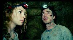 As Above So Below: Perdita Weeks as Scarlett and Ben Feldman as George | A Constantly Racing Mind