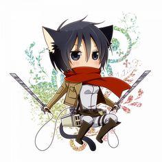 Tags: Anime, PNG Conversion, Shingeki no Kyojin, Pixiv Id 1324740, Mikasa Ackerman
