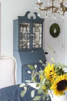 Secretary makeover with Fusion Mineral Paint + $150 paint giveaway!