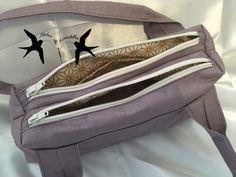 City Zip-Zip cousu par l'Atelier des Hirondelles - Patron sac Sacôtin