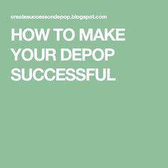 5b9e1f8d27663 HOW TO MAKE YOUR DEPOP SUCCESSFUL Depop Tips