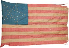 34 star Lincoln flag