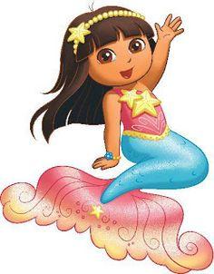 Dora Mermaid Quotes: Dora Saves the Mermaids Photo really love.