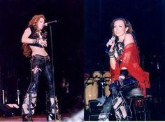 Thalia sempre sensual em seus shows!!!