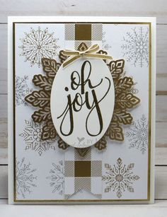 Stampin' Up! Watercolor Christmas-Cardiology by Jari