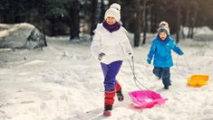 Sleds For Kids, Snow Much Fun, Go Outside, Winter, Fitness, Health, Winter Time, Health Care, Winter Fashion