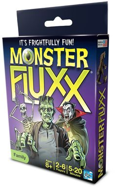Amazon.com: Looney Labs Monster Fluxx: Toys & Games