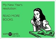 Basically to read more than last year, and different authors